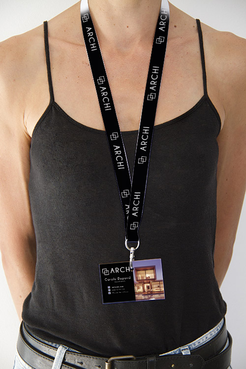 Badge de sécurité pour les événement et salon