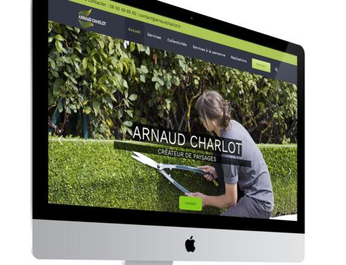 Site du paysagiste Arnaud Charlot