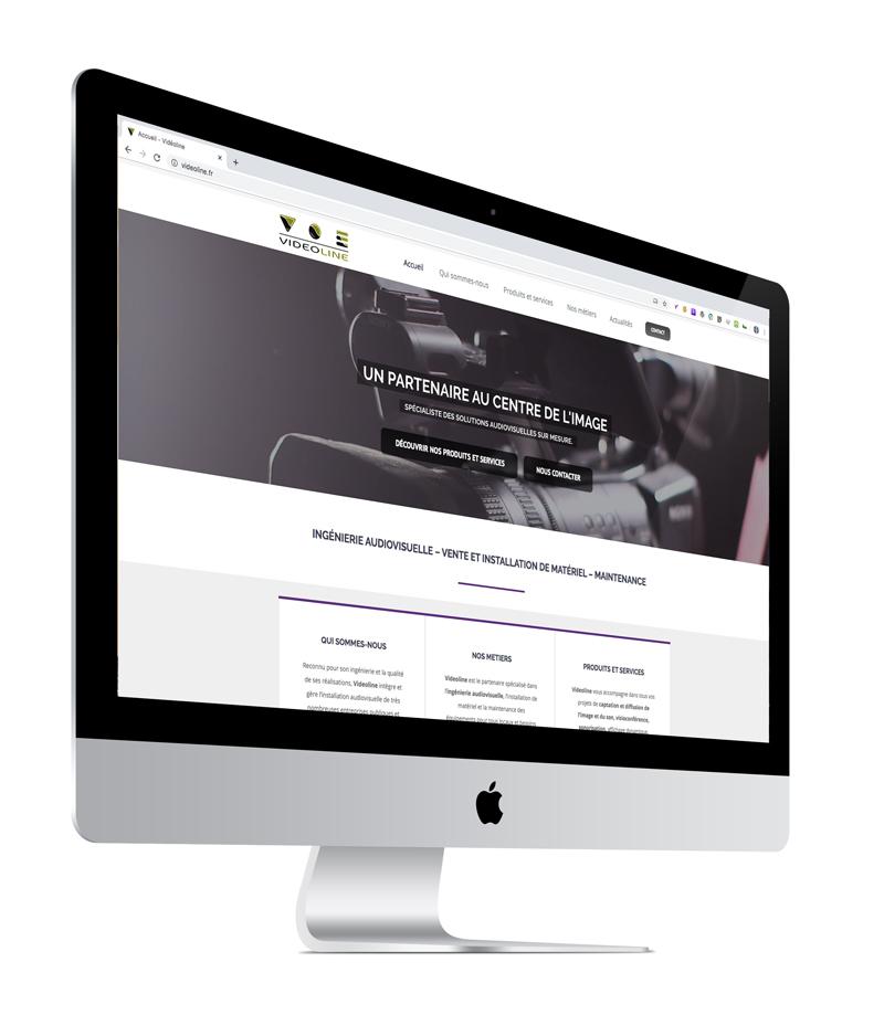 Création site internet Videoline par l'Agence Grain de Sell