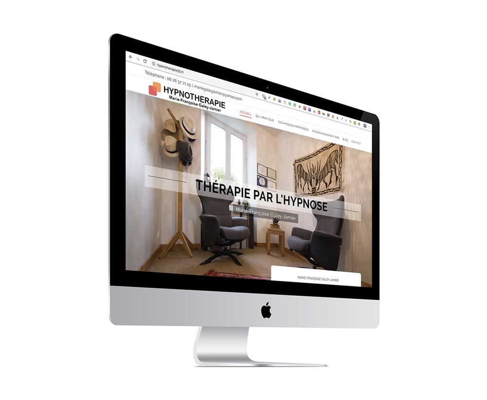 Site Internet d'un Hypnothérapeute dans les Côtes d'Armor (22)