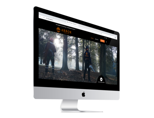 Création d'un site Internet pour paysagiste