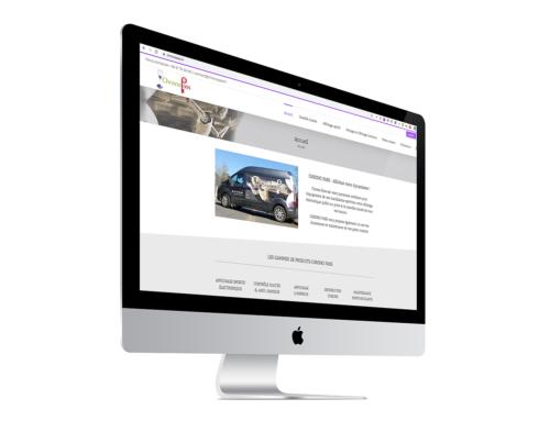 Création du site Internet de l'entreprise Chrono Pass