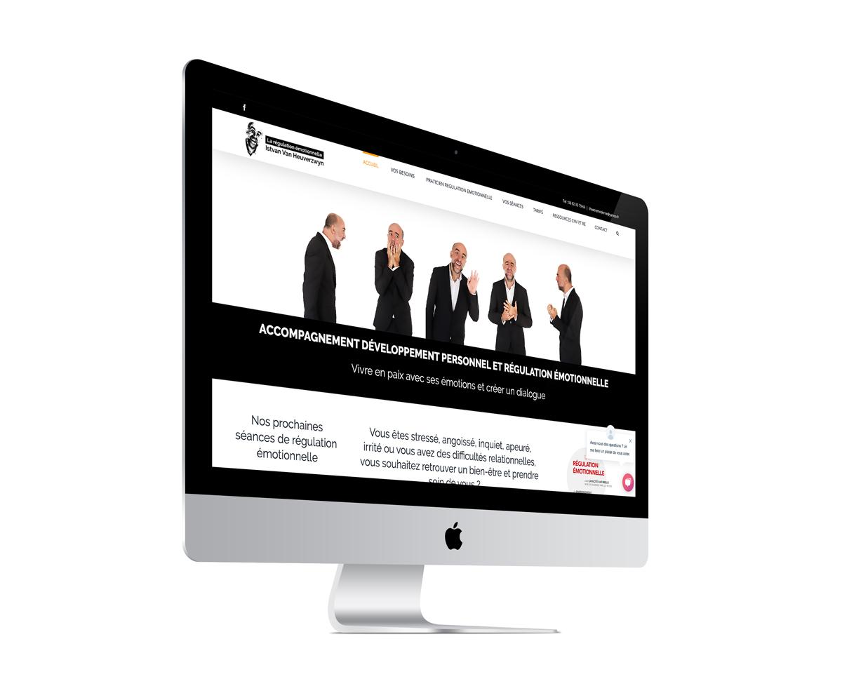 Création de site Internet pour un formateur en régulation émotionnelle