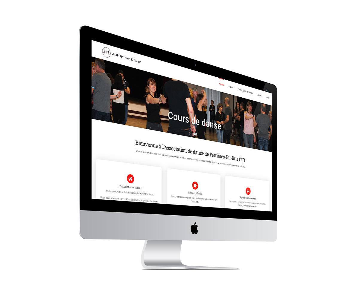 site internet de danse rythm N Danse